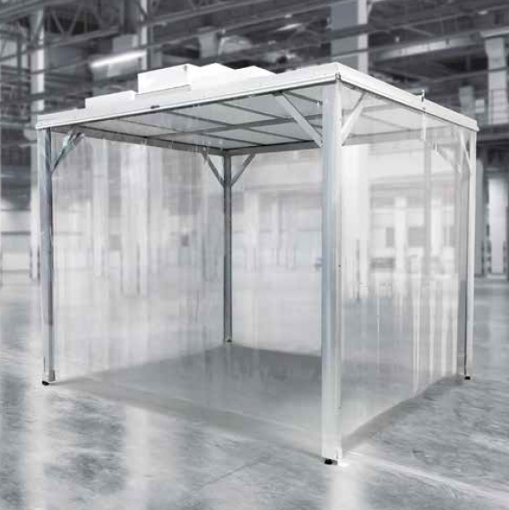 Cleanroom Softwall Enclosure Wall and Door System