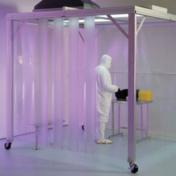 Portable Soft Wall Cleanroom