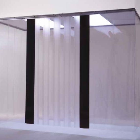 Soft Wall Clean Room Partitions